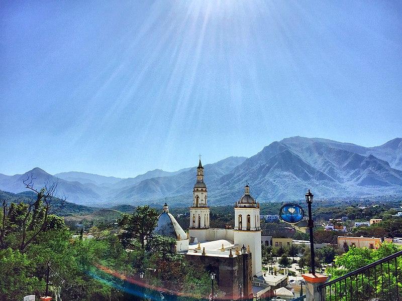 Roteiro nos arredores de Monterrey
