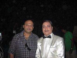 Vinay Pathak - Vinay Pathak with Deepak Bhanushali on ONCE MORE STUDIOS location