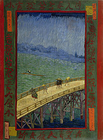 Vincent van Gogh - Brug in de regen- naar Hiroshige - Google Art Project.jpg