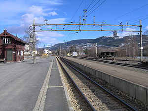 Vinstra - Vinstra train station