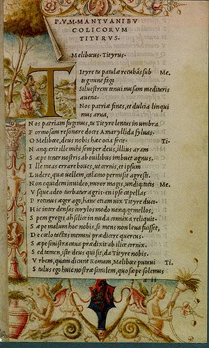 Aldine Press - Image: Virgil 1501 Aldus Manutius