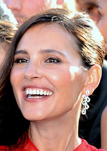 Virginie Ledoyen - the beautiful, intelligent, cheerful,  actress, model,   with French roots in 2019