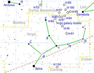 Maagd Sterrenbeeld Wikipedia