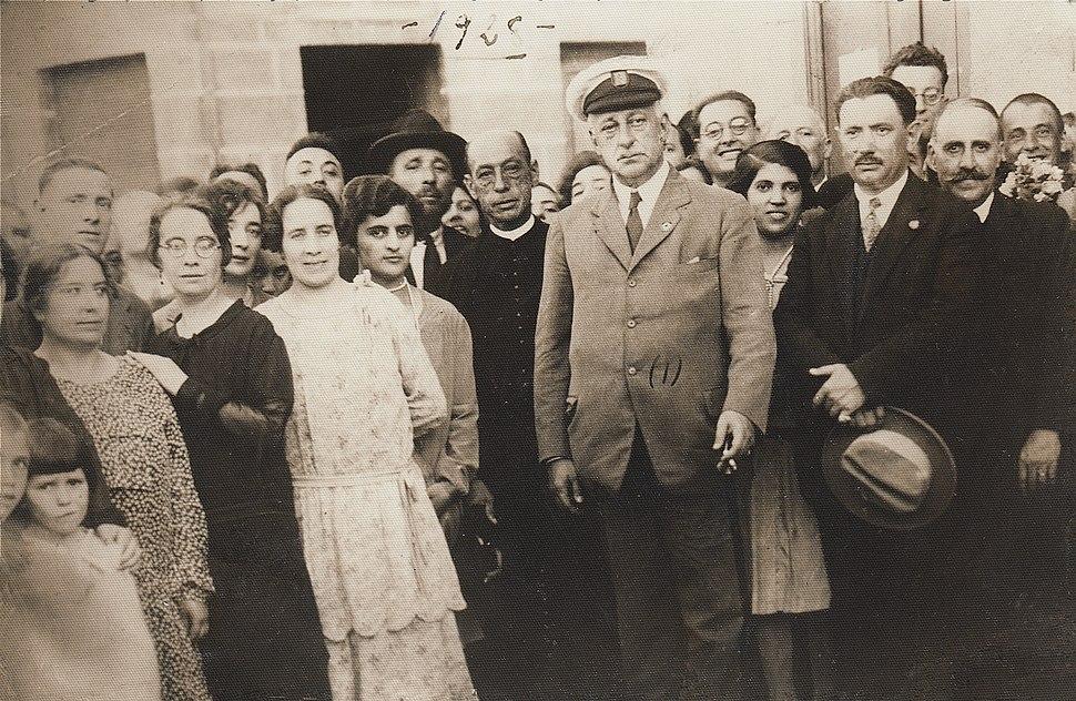 Visita do Xeral Primo de Ribera a Mondariz1928