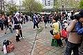 Visitors Photographing Cosplayers of Kyoko Kirigiri and Chiaki Nanami in CWT39 20150228a.jpg