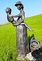 Vissersvrouw met kind1 Moddergat Hans Jouta.jpg