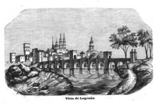 Puente De Piedra Logrono Wikipedia La Enciclopedia Libre