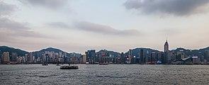 Vista del Puerto de Victoria desde Kowloon, Hong Kong, 2013-08-11, DD 02.JPG
