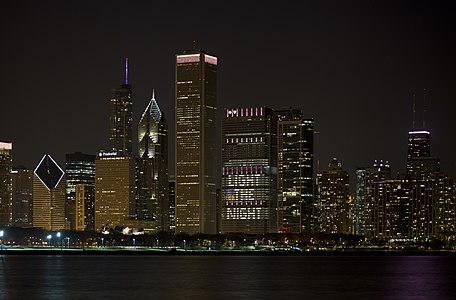 Chicago skyline, Illinois, USA.