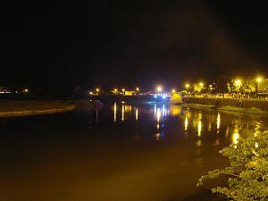 Rio Grande (Bahia) - View of the Rio Grande in Barreiras, Bahia