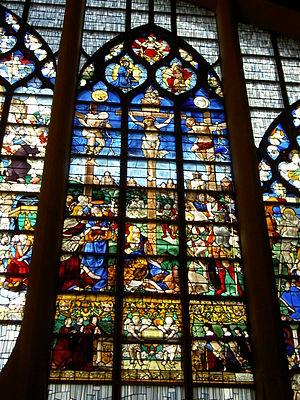 Church of St Joan of Arc - Image: Vitraux de l'église Sainte Jeanne d'Arc, Rouen, france 05