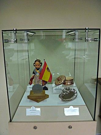 """Carondelet Palace - Image: Vitrina """"Príncipes de Asturias"""""""