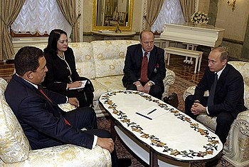 Vladimir Putin with Hugo Chavez 26 November 2004-2