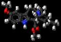 Voacangine molecule ball.png