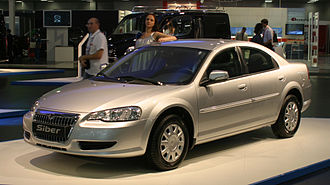 GAZ - GAZ Volga Siber, introduced in 2008