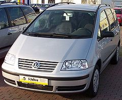 Volkswagen Sharan po face liftingu