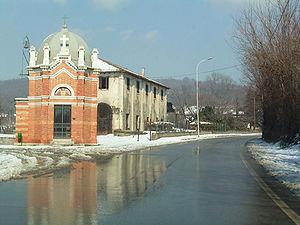 Volpago del Montello - Image: Volpago del Montello Capitello San Carlo