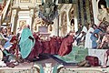 Volterrano, fasti medicei 09 Cosimo I associa al governo il figlio Francesco, 1637-46, 07.JPG