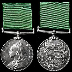 Volunteer long service medal wikipedia for Army emergency reserve decoration