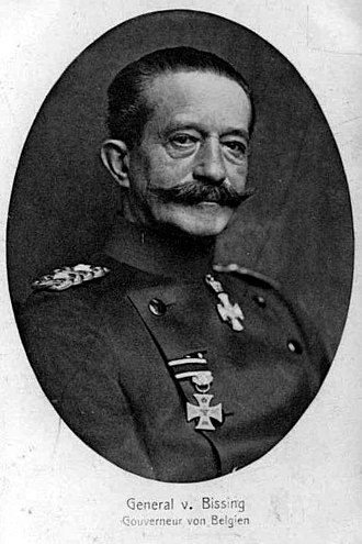 Von Bissing University - Moritz von Bissing, Governor-general of Belgium between 1914 and 1917.
