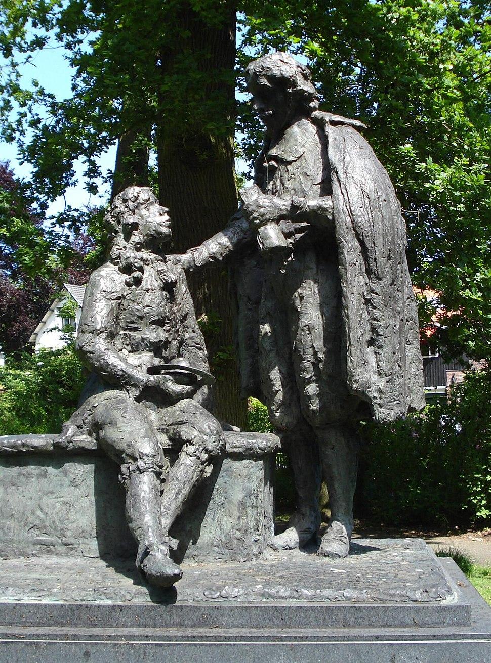 Voorburg monument huygensmonument