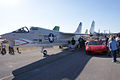 Vought F-8K Crusader 146985 Ferrari F430 Spider LFronts TICO 13March2010 (14576495706).jpg