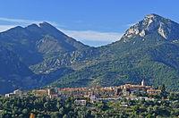 Vue du village de Castellar depuis la route des Granges Saint-Paul.JPG