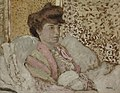 Vuillard - Buste de femme assise (Misia Natanson), c. 1898.jpg