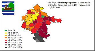 Vukovar-Srijem County - Image: Vukovár Szerém megye