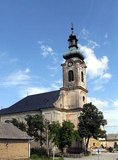 Vyšný Medzev Village in Slovakia