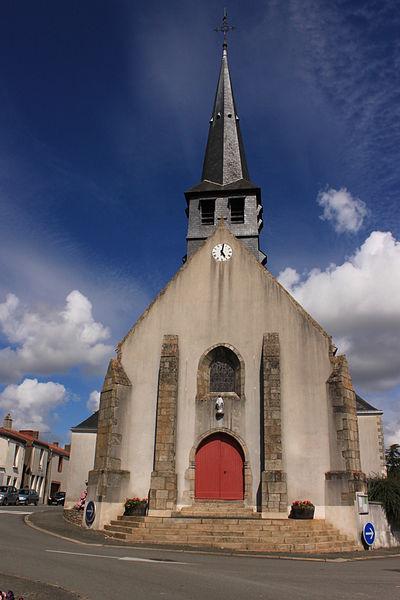 Église Saint-Rogatien, XIV°-XIX°, Maisdon-sur-Sèvre.