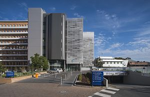 Walter and Eliza Hall Institute of Medical Research - Front of the Walter and Eliza Hall Institute in 2013.