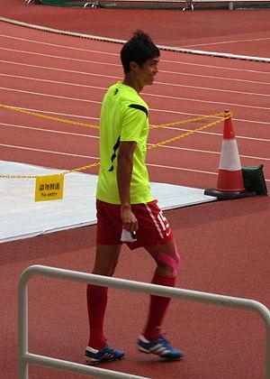 Chan Wai Ho - Chan Wai Ho playing for Hong Kong national football team