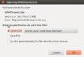 WPCleaner - Installation Ubuntu Desktop 12.04 JDK7u6 - Firefox (en).png