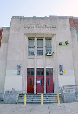 Central High School (Philadelphia) - Image: WTP B26 Audrey 1