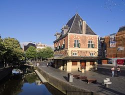 Former weigh house in Leeuwarden