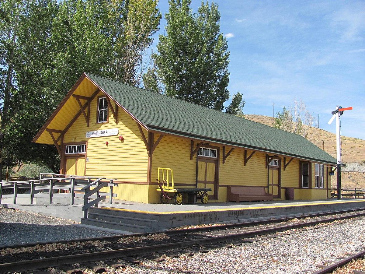 Wabuska Railroad Station Wikipedia
