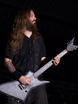 Decapitated (band) - Guitarist Vogg in 2014