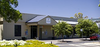 Australian Public Service - A Centrelink office in Wagga Wagga, New South Wales. The Department of Human Services, which administers Centrelink services, is the largest APS agency.