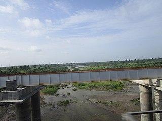 Waghur Dam dam in Raipur Village (Jalgaon)