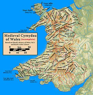 Maelor - Medieval commotes of Wales