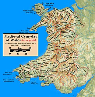 Penllyn (cantref) medieval cantref of Wales