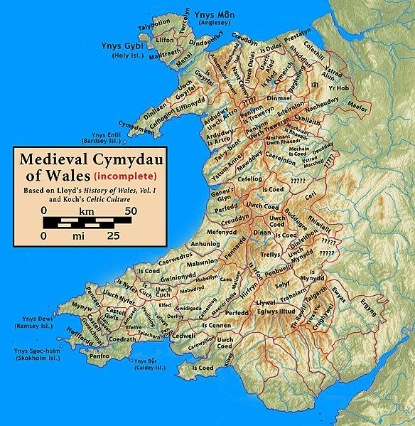 Je m'amuse un peu - Page 2 584px-Wales.medieval.cymydau