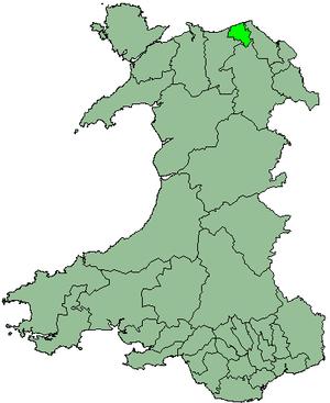 District of Rhuddlan - Image: Wales Rhuddlan 1974
