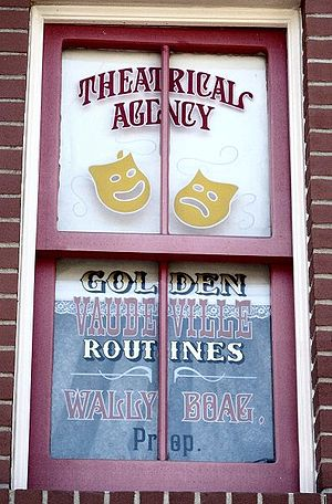 Wally Boag - Image: Wally Boag Window Small