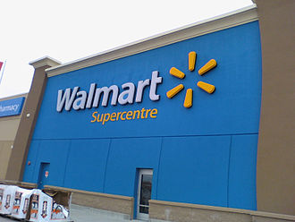Walmart Canada - Remodelled Walmart Supercentre in Brockville, ON in March 2013