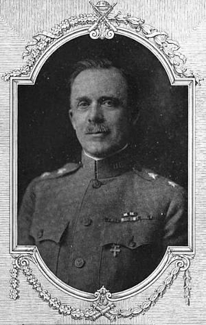 Walter Henry Gordon - Brigadier General Walter H. Gordon, Commanding the Tenth Infantry Brigade from December 1, 1917, to August 28, 1918.