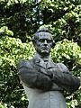 Walthère Frère-Orban statue detail, Brussels.JPG