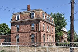 Boston Manufacturing Company Housing - 153–165 River St., 2010 photo
