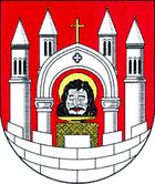 Das Wappen von Merseburg